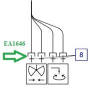 EA1646 Соединительный штуцер