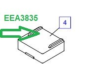 EEA3835 Аккумулятор