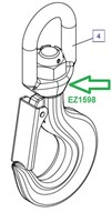 EZ1598 Крановый крюк