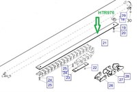 HTR976 Пластина усиления