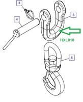 HXL010 Такелажная скоба