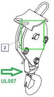 UL057 Крюковая подвеска, в сборе