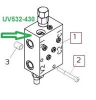UV532-430  КЛАПАН ГИДРАВЛИЧЕСКИЙ