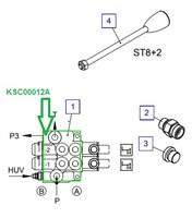 KSC00012A Гидрораспределитель (-секций)